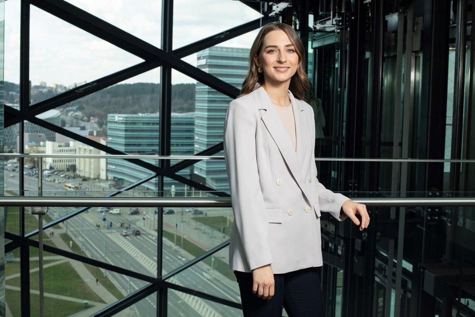 """Swedbank"" ekonomistė Greta Ilekytė (nuotr. Swedbank)"