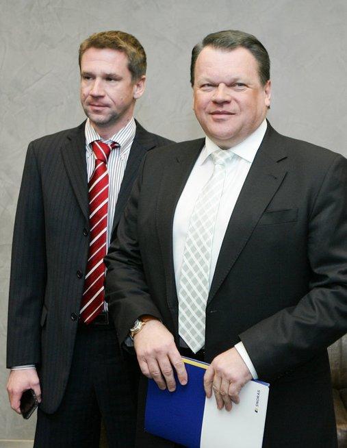 Vladimiras Antonovas ir Raimondas Baranauskas