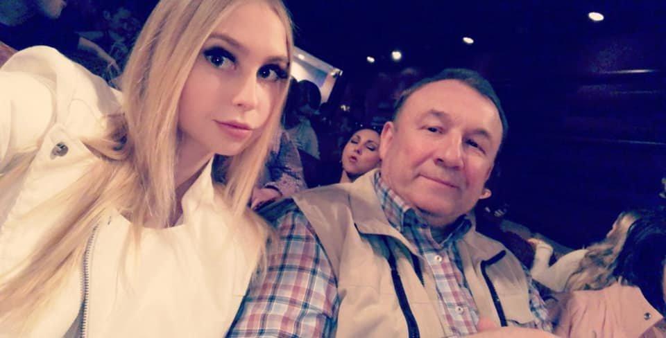 Simona Milinytė su tėčiu