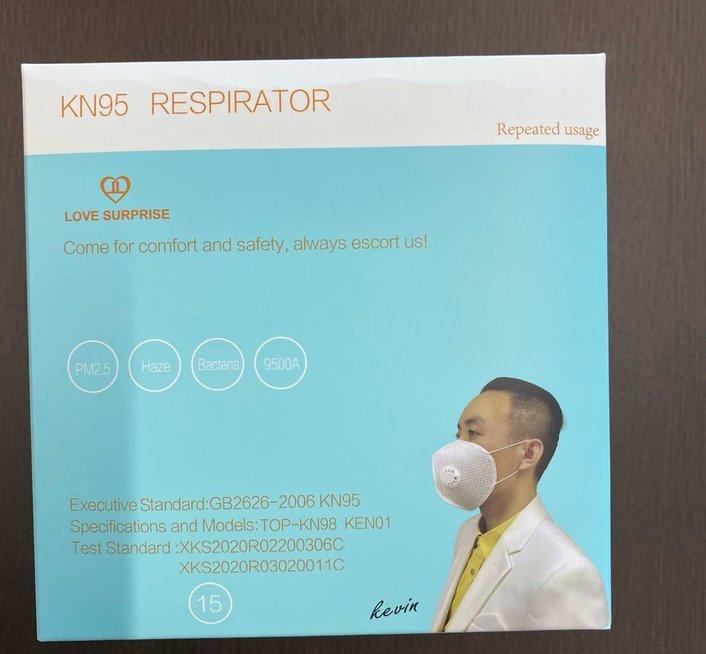 """respiratorių pakuotė, UAB""""Vadasiga"""" nuotr."""