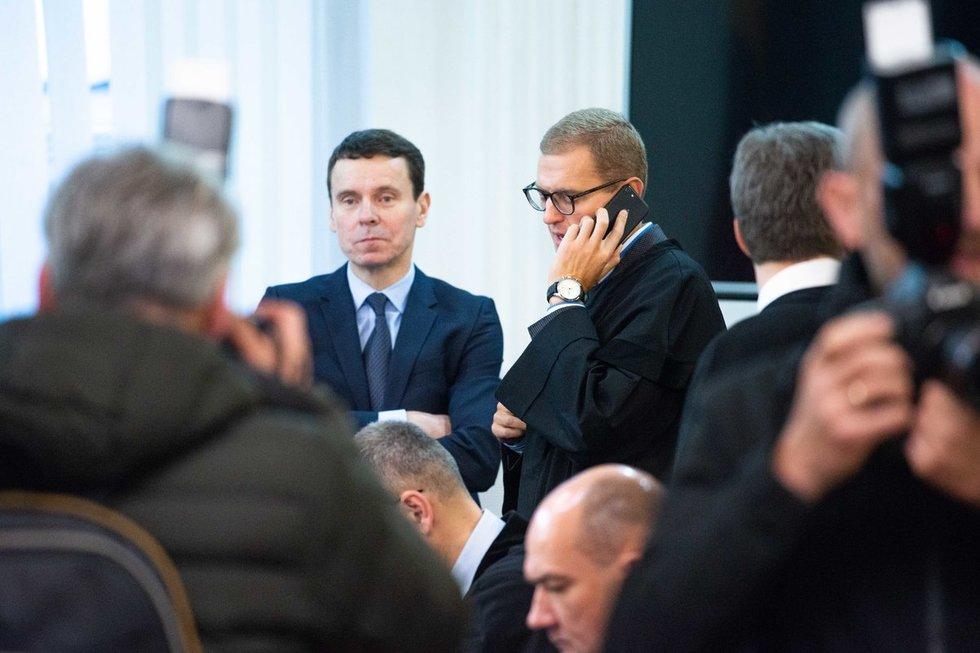 Politinės korupcijos byla Vilniaus apygardos teisme (nuotr. Justinas Auškelis/Fotodiena)