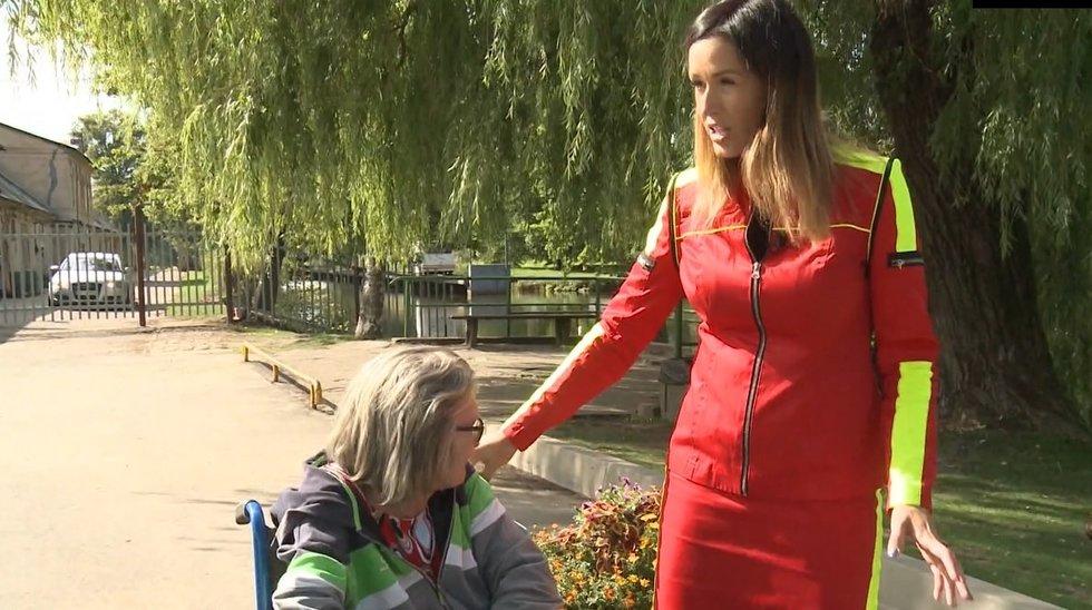 Neįgalios moters pagalbos šauksmas – lauke nebuvo jau dvejus metus