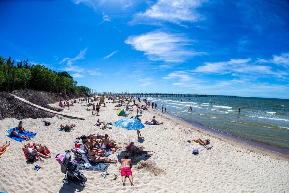 Palangos paplūdimys (nuotr. Fotodiena/Justinas Auškelis)