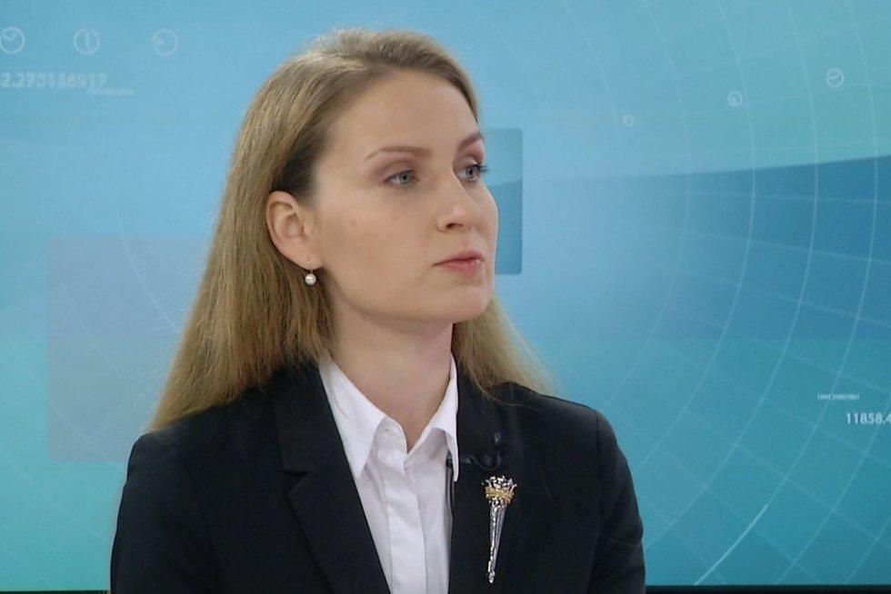 Rima Urbonaitė (nuotr. stop kadras)