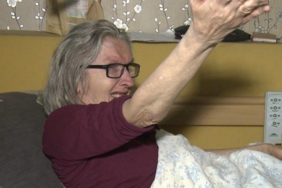 TV Pagalba. Neįgalios moters pagalbos šauksmas – lauke nebuvo jau dvejus metus