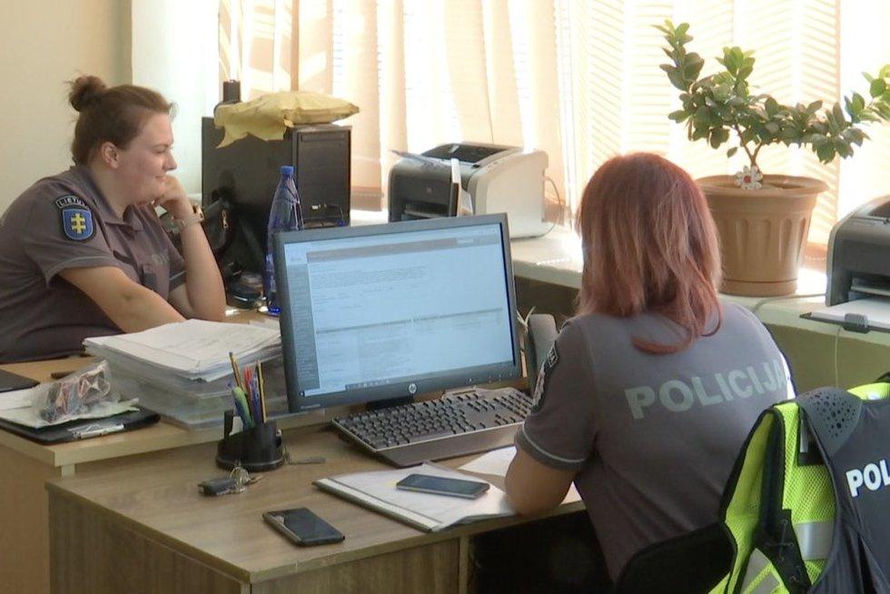 Kaune policijos pastatams – kritinė būklė: situacija pasikeis tik po poros metų (nuotr. stop kadras)