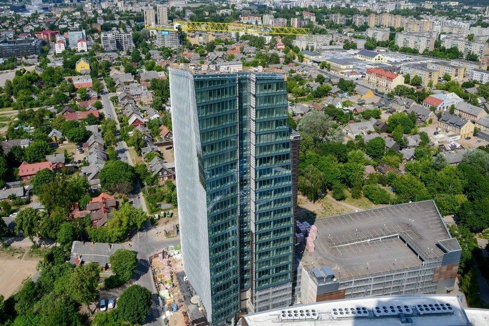 Vilniaus miestas iš aukštai (nuotr. Fotodiena.lt)