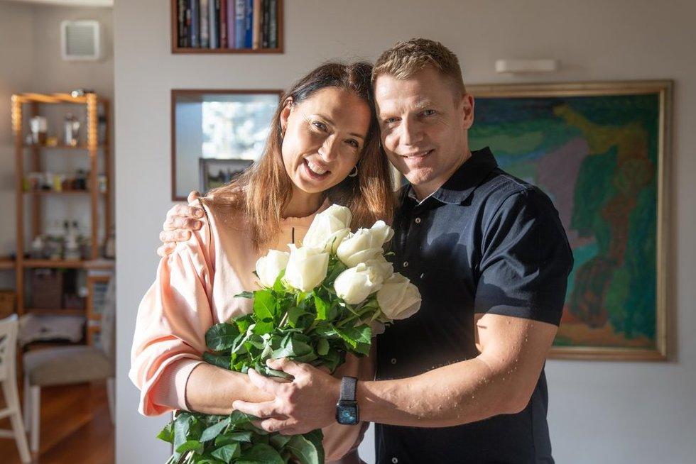Marius ir Brigita Jovaišos (nuotr. asm. archyvo)