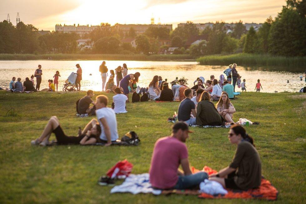 Vasaros pramogos (nuotr. Fotodiena/Justino Auškelio)