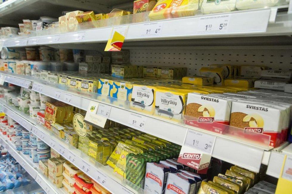 Sviestas, margarinas (nuotr. Tv3.lt/Ruslano Kondratjevo)