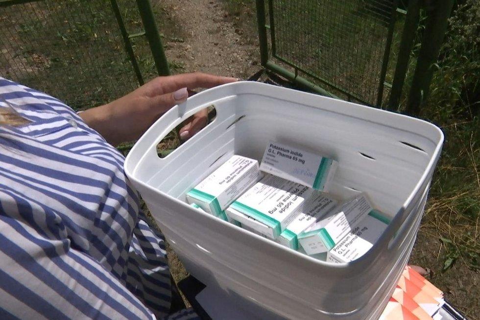 TV3 žinios. Lietuvoje pradėta dalinti Jodo tabletes