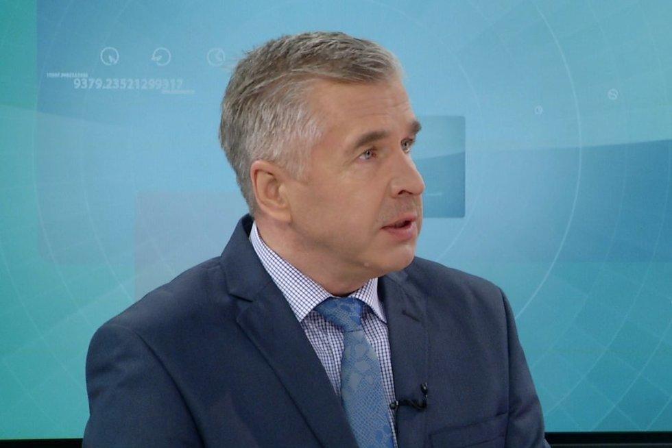 Klimatologas prof. Arūnas Bukantis (nuotr. stop kadras)