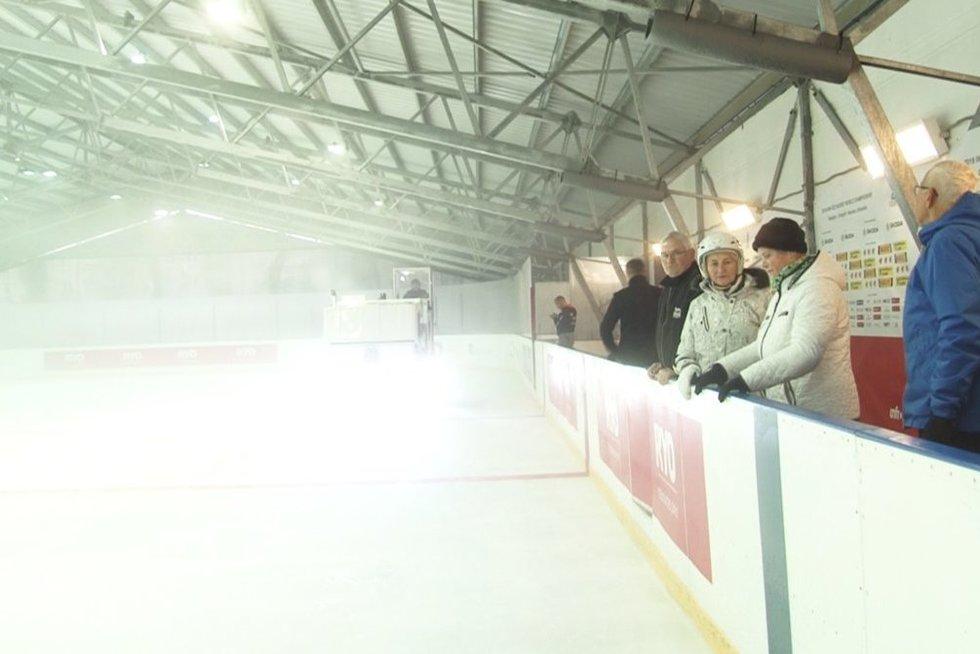 Ledo arena (nuotr. stop kadras)