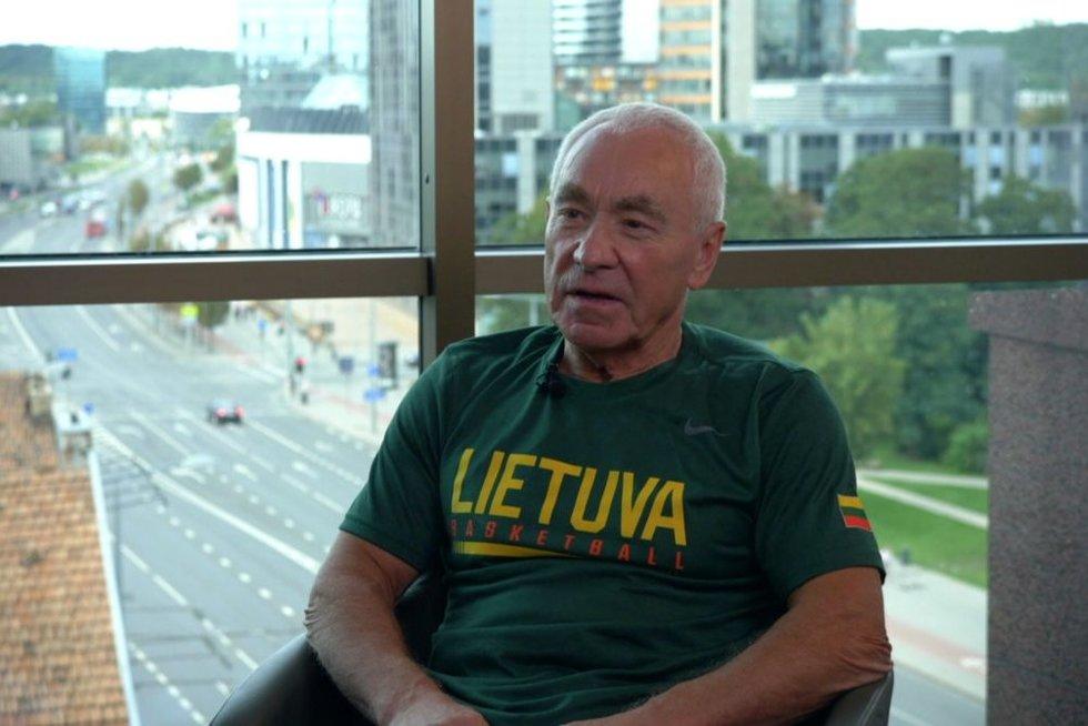 Juozas Petkevičius (nuotr. stop kadras)