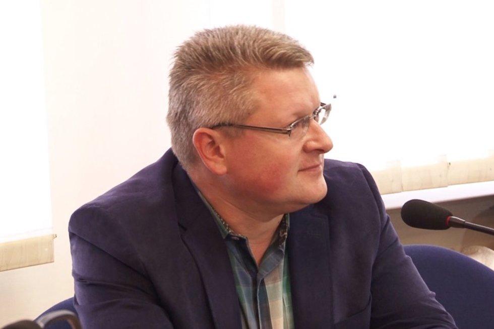 Vismantas Užkalinskas (nuotr. stop kadras)