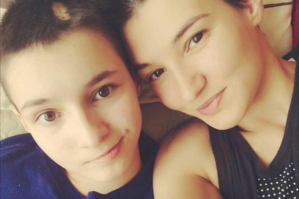 Vitalija Vosylė ir dukrytė Pija