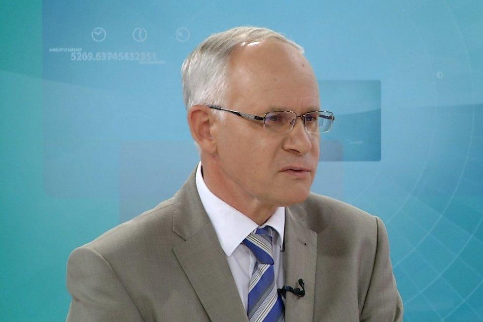 Ministras Algirdas Monkevičius (nuotr. stopkadras)