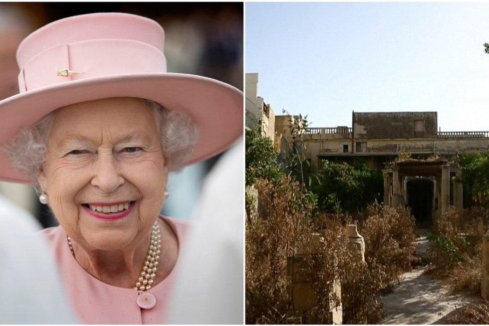 Aprodė apleistą karalienės Elžbietos II vilą: sunku patikėti, kad ji čia kadaise gyveno (nuotr. SCANPIX) tv3.lt fotomontažas