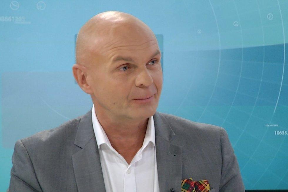 Arminas Lydeka (nuotr. stop kadras)