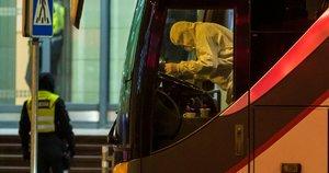 Sąmyšis Vilniaus oro uoste: pasitinkami tranzitu per Lietuvą į kitas šalis namo grįžtantys užsieniečiai (nuotr. Broniaus Jablonsko)