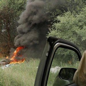 Gaisrai – ir šernams baidyti, ir atliekoms deginti