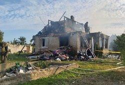 Radviliškio rajone name įvyko sprogimas: skelbiama apie nukentėjusį asmenį