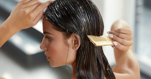 Plaukų kaukė (nuotr. 123rf.com)
