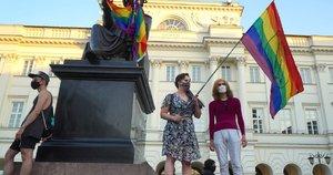 Lenkijoje LGBT aktyvisto areštas išprovokavo susirėmimą su policija (nuotr. SCANPIX)