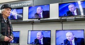 Penki Vladimiro Putino melai – penki faktai (nuotr. SCANPIX)