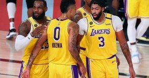 """""""Lakers"""" išlygino serijos rezultatą 1:1. (nuotr. SCANPIX)"""
