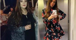 Mergina atsikratė 32 kilogramų ir atskleidė savo paslaptį (nuotr. Instagram)