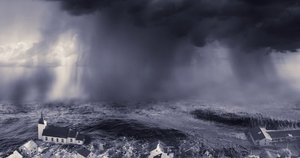 Pesimistinė prognozė: vandens lygis kils rekordine sparta (nuotr. shutterstock.com)