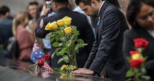 Niujorke minimos rugsėjo 11-osios metinės: pagerbtos išpuolio aukos (nuotr. SCANPIX)
