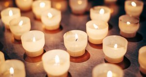 žvakės (nuotr. 123rf.com)