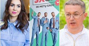 """Fausta Marija Leščiauskaitė, """"Telia"""" reklama su Lavrinovičiais, Aleksandras Pogrebnojus (tv3.lt fotomontažas)"""