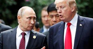 Vladimiras Putinas ir Donaldas Trumpas (nuotr. SCANPIX)