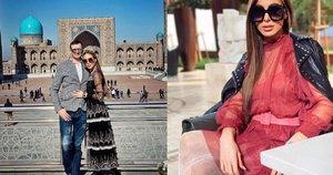 Viktorijos Siegel atostogos Uzbekistane (nuotr. Instagram)