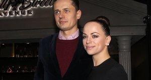 Ąžuolas Žvagulis ir Ineta Puzaraitė-Žvagulienė (nuotr. Tv3.lt/Ruslano Kondratjevo)