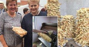 Jolantos gamintus šakočius pamėgo lietuviai iš viso pasaulio (nuotr. asm. archyvo)