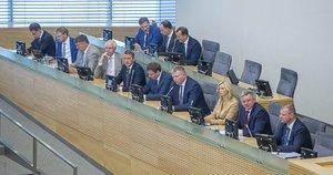 Skvernelio Vyriausybė(nuotr. Fotodiena/Rokas Lukoševičius)