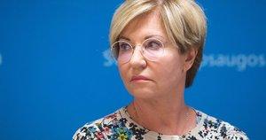 Nacionalinio visuomenės sveikatos centro Vilniaus departamento direktorė R. Lingienė (nuotr. Justinio Auškelio/Fotodiena.lt)