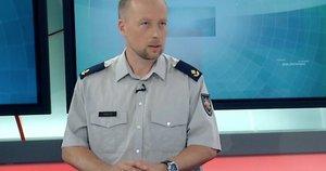Ugniagesys gelbėtojas Jonas Vaišutis (nuotr. TV3)