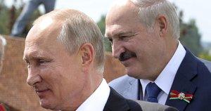 Putinas ir Lukašenka (nuotr. SCANPIX)