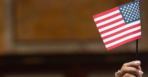 JAV vėliava (nuotr. SCANPIX)