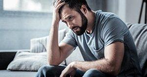 Susikrimtęs vyras  (nuotr. Shutterstock.com)