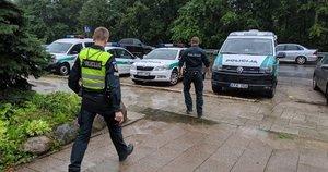 Policija (nuotr. Broniaus Jablonsko)