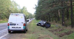 Automobilių kaktomuša netoli Vilniaus (nuotr. Bronius Jablonskas/TV3)