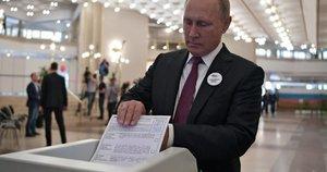 Regioniniai rinkimai Rusijoje, 2018-ieji (nuotr. SCANPIX)