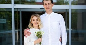 Simonas Storpirštis su žmona Indre (Greta Skaraitienė/Fotobankas)