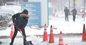 Čikagą užvertė sniegas (nuotr. Scanpix)